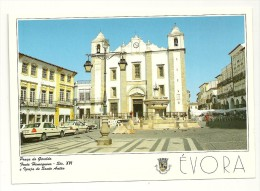 Portugal. Evora. Praça Do Giraldo. Fonte Henriquina - Evora