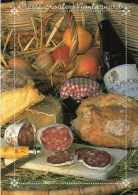 Casse-croûte Montagnard : Fromages, Charcuteries, Vin De Savoie, Couteau Opinel - 1615 PP - Editions DIFFU-CARTES - TBE - Recipes (cooking)