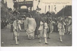 CPAS Liège Exposition Universelle La Joyeuse Entrée De La Famille Royale. Le Cortège La Glorification De Grétry  1910. - Lüttich