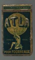 CARNET PUBLICITAIRE METAL ATLA - 10 Cm -  SUPERBE - Other