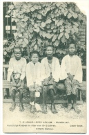Mandalay (Birmanie) Les Lépreux De La Léproserie St.Jean St John's Leper Asylum LEPER BOYS C. 1908 (corner Missing) - Myanmar (Burma)