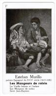 ESTEBAN MURILLO PEINTRE ESPAGNOL DU XVIIe SIECLE 1617-1682 LES MANGEURS DE RAISIN - Histoire