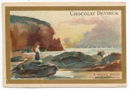 CHROMOS CHOCOLAT DEVINCK - A MAREE BASSE. - Chocolate