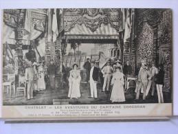 CHATELET - AVENTURES DU CAPITAINE CORCORAN - P. GAVAULT - G. BERR - A. VETY - SERIE BA.. 1er TABLEAU - DOS SIMPLE - 1900-1949