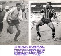 Photo Sports - Football, Lucien Cossou Monaco Et Douglas Boulogne  20.11.1963 - Sports
