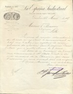 Faktuur Facture - Brief Lettre - La Espana Industrial - Mercantil - Barcelona 1889 - Espagne