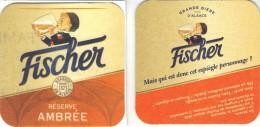 SOUS BOCK FRANCAIS BRAS.FISCHER N°107   2014 - Beer Mats