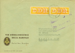 DDR ZKD 2x16-M Auf Brief - [6] Democratic Republic