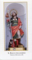 Montaquila IS - Santino SAN ROCCO PELLEGRINO, Parrocchia Assunzione Di Maria Vergine - PERFETTO H64 - Religione & Esoterismo