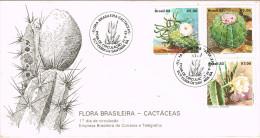 R 934. Carta F.D.C. BRASIL 1983. Cactus. Flora Brasileira - Cactus