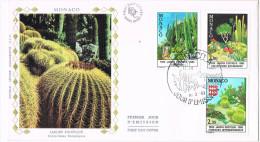 R 935. Carta F.D.C. MONACO 1983. Cactus.jardin Exotique - Cactus
