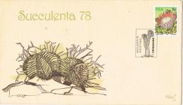 R 936. Carta F.D.C. Republic South Africa RSA 1978.  Cactus Expo Succulenta 78 - Cactus