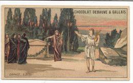 CHROMOS CHOCOLAT DEBAUVE ET GALLAIS - ORPHEE ACTE III. - Chocolate