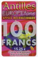 ANTILLES FRANCAISES Ref MV CARD ANTF EF 9  15,25€ - Antilles (Françaises)