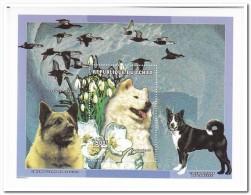 Tsjaad 1998, Postfris MNH, Dogs, Flowers - Tsjaad (1960-...)