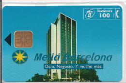 TARJETA TELEFONICA HOTEL MELIA BARCELONA TIRADA 5000 - Pintura