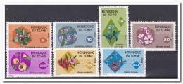 Tsjaad 1975, Postfris MNH, Flowers - Tsjaad (1960-...)