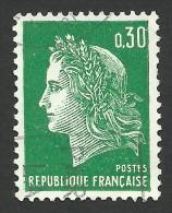 France, 30 C. 1969, Sc # 1231C, Mi # 1649, Used. - 1967-70 Marianne Of Cheffer