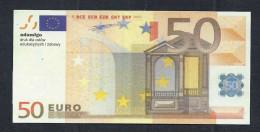 """Spielgeld """"ADAMIGO, Polen"""" Testnote  50 EURO, Training, Education, Play Money, Ca. 95 X 45 Mm, RRR, UNC, Eins. Druck - EURO"""