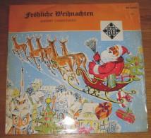 Disque 040 Vinyle 33 T Frölische Weihnachten  Merry Christmas - Vinyl Records