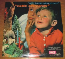 Disque 041 Vinyle 33 T Weihnachtslieder Noëls Allemands Choeurs De La Cathédrale De Schleswig - Other - German Music
