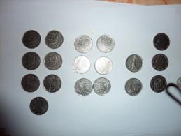 Lot De 18 Pièces De 5 Francs - France