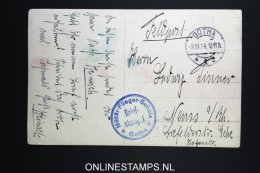 Germany Militär-Flieger-Schule Gotha 1914 Feldpostkarte - Briefe U. Dokumente