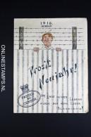 Germany Weinachten 1914 Gruss Aus Dem Lager Der  Kriegsgefangenen Deutschen Und Oesterreichischen Offiziere Durban