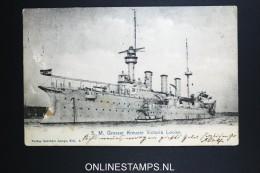 Germany Postcard 1902 SMS Victoria Louise - Briefe U. Dokumente