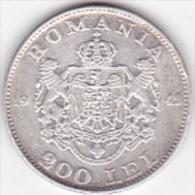 5963A  Romania Roumanie Rumänien 200 Lei ,1942 , 6 Gr. 835/1000 Silver / Argent - Romania