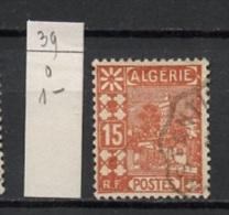 Algérie 1926 Y&T N°39 Oblitéré - Used - Gestempelt - Algérie (1924-1962)