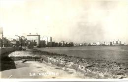 LA  HAVANE    CPA  PHOTO   MALCON  AVENUE - Cuba