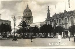 LA  HAVANE    CPA  PHOTO    LE  CAPITOLE  No2 - Cuba