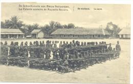 De Schoolkolonie Van Niieuw-Antwerpen - La Colonie Scolaire De Nouvelle-Anvers - Le Carré - Congo Belge - Autres