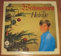 Disque 044 Vinyle 33 T Weihnachten Mit Heintje - Sonstige - Deutsche Musik