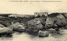 56 BELLE ISLE EN MER  Pointe Aux Poulains Propriété De Madame Sarah BERNHARDT  Coll. FECHAUT - Belle Ile En Mer