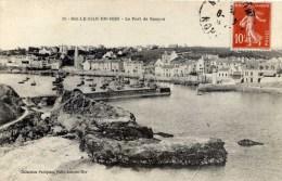 56 BELLE ISLE EN MER   Le Port De Sauzon  Collection Petitjean - Belle Ile En Mer