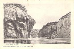 AK 0076  Die Lange Wand Bei Weltenburg - Stahlstich Von J. Alt A. D. Jahre 1840 / Verlag Löwenthal Um 1909 - Kelheim