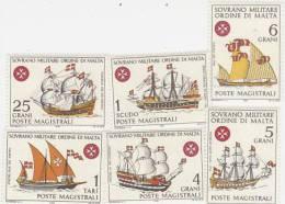 SMOM-1968 Ships Set MNH - Malte (Ordre De)