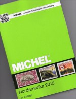 MlCHEL Nord-Amerika Band 1/I Katalog 2015 Neu 79€ Color:Canada Panama-Kanal USA Hawaii St.Pierre UNO NY 978-395402-128-4 - Schede Telefoniche