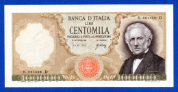Italy 100000 Lire Alessandro Manzoni 1967 Pick 100a Spl~Sup / Xf~Au  Rare - [ 2] 1946-… : Repubblica