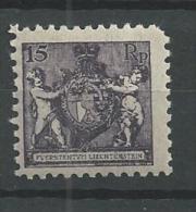 1921 MH Liechtenstein - Liechtenstein