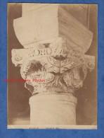 Photo Ancienne Albuminée Vers 1860 - RAVENNA - Basilica Di S. Appolinare - Classe Capitello Bizantino - RARE - Oud (voor 1900)