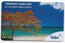 ANTILLES FRANCAISE OUTREMER TELECOM Ref MVCARD ANTF OT3 40 FF  2000 Mat - Antilles (French)