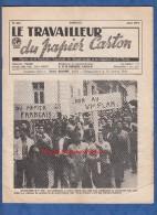 Revue Syndicaliste De Mai 1971 - Le Travailleur Du Papier Carton - Manifestations De Bellegarde ( Ain ) - CGT Syndicat - Livres, BD, Revues
