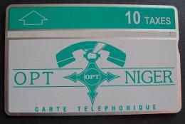 Niger - NGR-17, O.P.T. Niger, Green-White, 10 U, 612L, 10.000ex, 12/96, Used - Niger