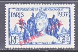 FRENCH INDIA  181    * - India (1892-1954)