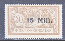 FRENCH ALEXANDRIA  42    * - Alexandria (1899-1931)