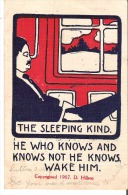 The SleepingKind. He Who Knows And Knows Not He Knows. Wake Him. - Humour
