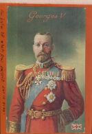 CPA  Sa Majesté Le Roi Georges V D´Angleterre.  AVR 2015  DIV 235 - Koninklijke Families